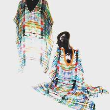 Kaftan  / 100% Silk / Very Light & Cool / Generous Size / RR $ 149.95