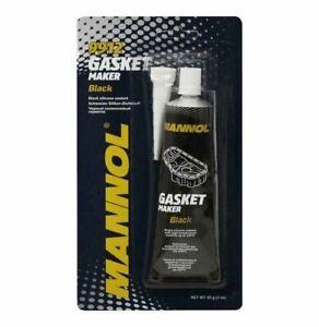 MANNOL 85g Tube RTV Silicone Sealant Black Gasket Maker High Temp Sealant 9912