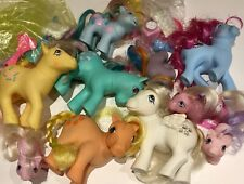 My Little Pony MLP G1 Vintage Lot Babies Baby Unicorn Pegasus Combs Accessories