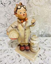 Goebel Hummel The Little Pharmacist Vitamins TMK-4 West Germany #322 5 3/4 Inch