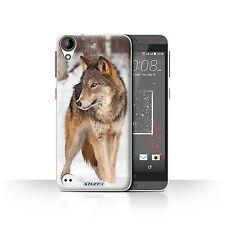 STUFF4 Hülle/Case für HTC Desire 530/Wolf/Wilde Tiere