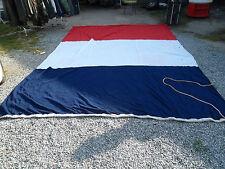 Pavillon tricolore bateau de guerre marine nationale big three colored french