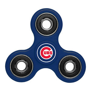 Chicago Cubs Three Way Fidget Spinner MLB New IN STOCK