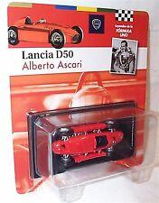 LANCIA D50 ALBERTO ASCARI 1955 SCALA 1-43 NUOVO IN BLISTER cardate