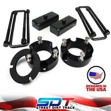 """Fits 2005-18 Toyota Tacoma 6-Lug Full 3"""" Front + Rear Lift Kit with Lean Spacer"""