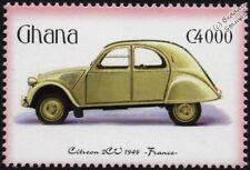 1949 CITROEN 2CV / 2-CV Mint Automobile Car Stamp (2001 Ghana)