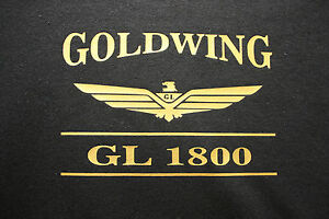 GOLDWING 1800 BAR LOGO TEE SHIRT SHORT OR LONG SLEEVE MANY COLORS AVAILABLE