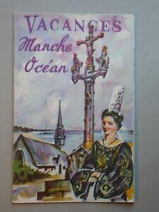 Plaquette publicitaire l'Economique - Vacances Manche Océan Bretagne tourisme