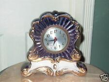 Sessions Porcelain Shelf Mantel Clock Model W