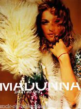 Madonna Poster 1998 Ray Of Light Original Promo