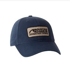 Mountain Khakis Soul Patch Cap Hat Classic Adjustable Blue - Brand New W/Tags!!!