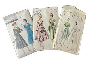 Vintage Vogue/Butterick/Economy Design  Dress Patterns