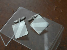 Raz Hecho En Mexico Cufflinks 13.56g Gorgeous Vintage Pair Of Sterling Silver