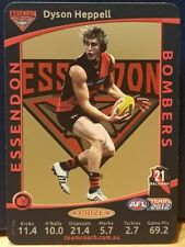 2012 AFL Teamcoach Prize Card Dyson Heppell (Essendon)