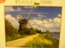 Molino de viento-a 1000 Pieza Rompecabezas por Innovakids con Puzzle Conserver