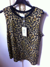 neuf! superbe top leopard LAURENCE DOLIGE taille 1
