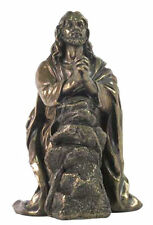 Jesus Praying In Garden of Gethsemane Sculpture Christian Statue