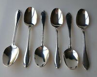Wallace Silverplate Royal Tip flatware six place or oval soup spoons
