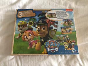 paw patrol 24 Piece jigsaw puzzle (3 Puzzles)