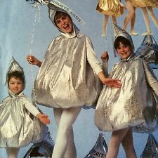 McCalls 2338 Hershey Kiss Pattern Kids Childs Size 2-4 Uncut Halloween Costume