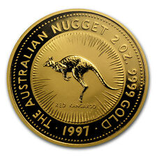 1997 Australia 2 oz Gold Nugget BU - SKU #66738