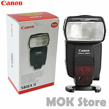 Canon Speedlite 580EX II Shoe Mount Flash For Canon DSLR EOS Retail box