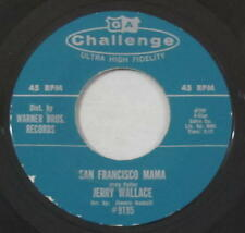Jerry Wallace 45rpm Challenge 9195 San Francisco Mama/Just Walking In The Rain