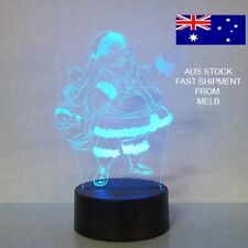 3D LED LIGHT SANTA CLAUS CHRISTMAS 7 COLOR LIGHT REMOTE CONTROL GIFT TABLE LAMP