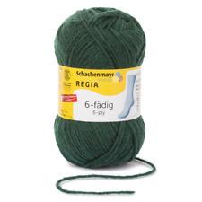 7,90€/100g Regia Sockenwolle Strumpfwolle 6fädig 50g Farbe 00327 tanne