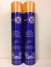 2 It's a 10 Miracle Super Hold Finishing Spray with Keratin 10 oz free shipping