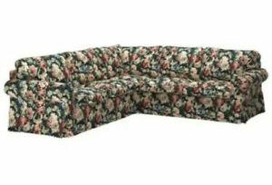 Ikea EKTORP 4 Seat Corner Sectional Sofa Slipcover Lingbo Multicolor Floral