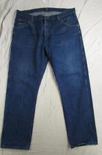 Wrangler 47MWZPW Dark Denim Jeans Tag Size 40x30 Measure 40x31 Cowboy