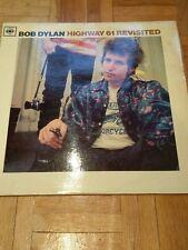 Bob Dylan Highway 61 Revisited - plain orange vinyl LP album record UK 62572