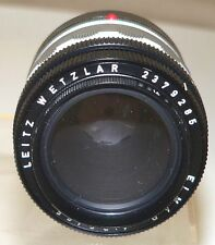 Leitz Elmar 3.5/6.5 lens with Visoflex  mount