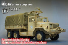 1/6 scale truck vehicle car Jeep Hummer U.S Army M35 6x6 Cargo Truck FULL METAL