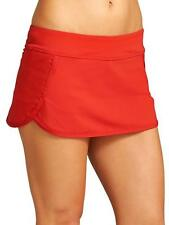 NWT Athleta Kata Swim Skirt/Skort, RED SIZE XL     #439139 v