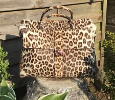 Mulberry Limited Edition Leopard Skin Harriet Tote Bag VGC