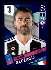 Topps Champions League 2018/19 - Andrea Barzagli Juventus No. 238
