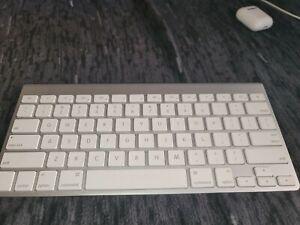 Apple Wireless Bluetooth Slim Mini Keyboard, Model A1314, Mac Aluminium Silver