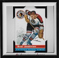 "1954 Topps ""RED"" SULLIVAN #42 NM *tough hockey card for set* DD17"