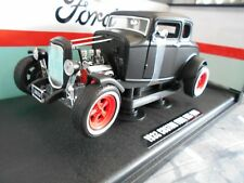 FORD Hot Rod V8 Muscle Tuning matt black schw 1932 Sonderpreis Greenlight 1:18