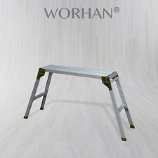 Builder Work Hop Up  Aluminum Compact Foldable Bench Working Height=75cm. 150kg