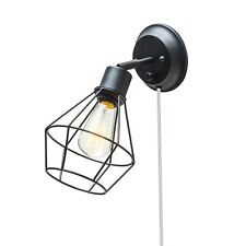 Wall Light Caged Sconces Industrial Edison lighting Lamp Fixture Steam Punk New