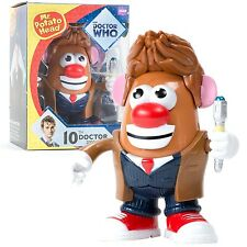 "DOCTOR WHO - 10th Doctor 6"" PopTaters Mr Potato Head Figurine (PPW Toys) #NEW"
