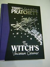 The Witch's Vacuum Cleaner Terry Pratchett Deluxe Slipcased First Edition