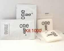 KIT 1000 PZ CORTESIA HOTEL B&B SAPONETTA INCARTATA +SHAMPOODOCCIA ONE FOR YOU