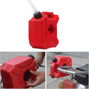 Stable 5L Plastic Jerry Can Gas Diesel Petrol Fuel Tank Oil Container Fuel-jugs