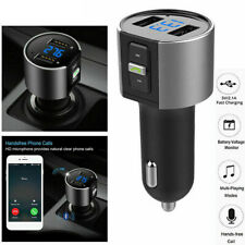Wireless In-Car Bluetooth FM Transmitter MP3 Radio Adapter Car Kit for Cellphone
