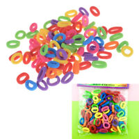 Candy couleur petite fille élastique cheveux Bands bague de la corde coiffure