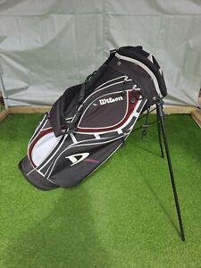 Wilson Deep Red Stand / Carry Golf Bag